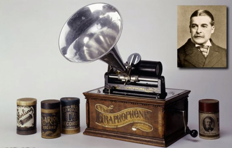 Sir Arthur & the phonograph