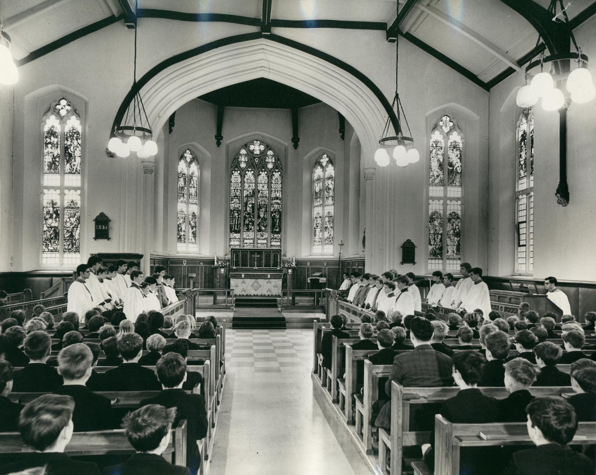 Chapel Choir,  c1959